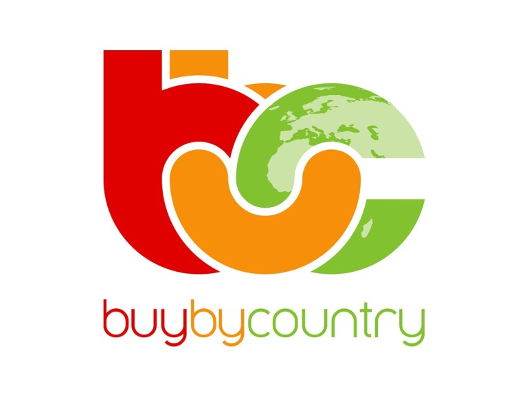 BuyByCountry Logo Design