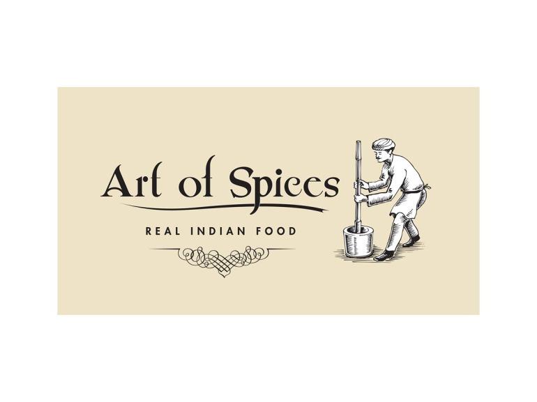 Art of Spices Logo Design