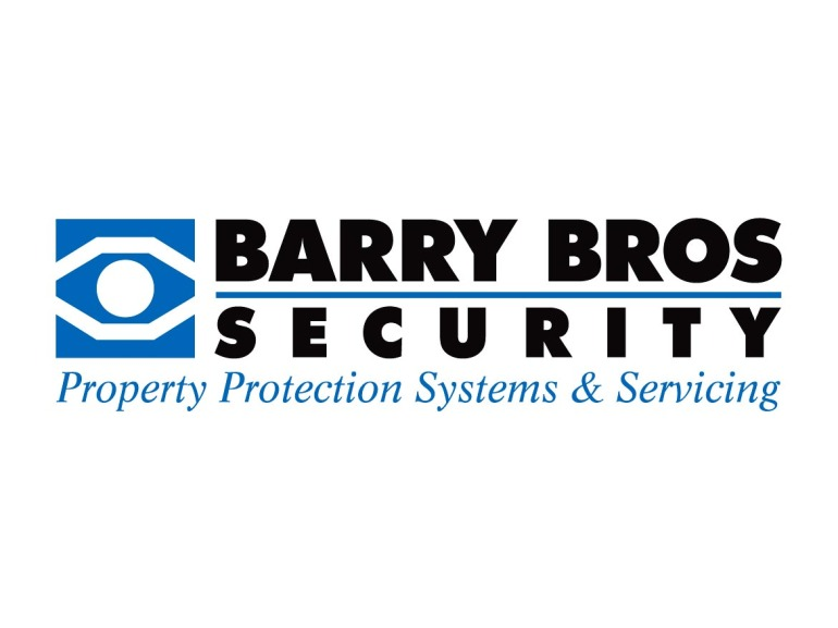 Barry Bros Security Logo Design