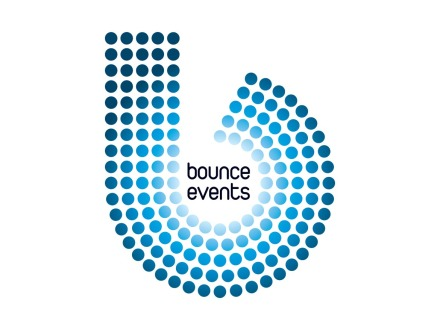 Bounce Events Logo Design