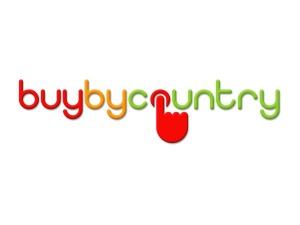 BuyByCountry Logo Design