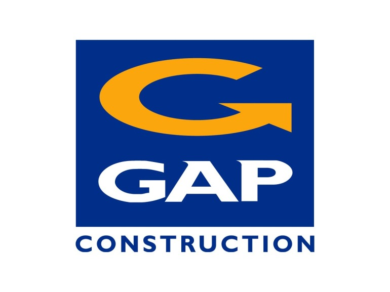 GAP Construction Logo Design