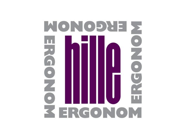 Hille Ergonom Logo Design
