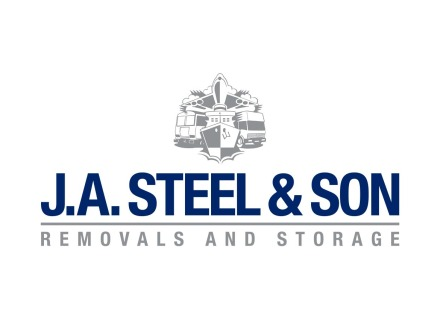 J A Steel and Son Logo Design