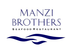 Manzi Brothers Seafood Restaurant Logo Design