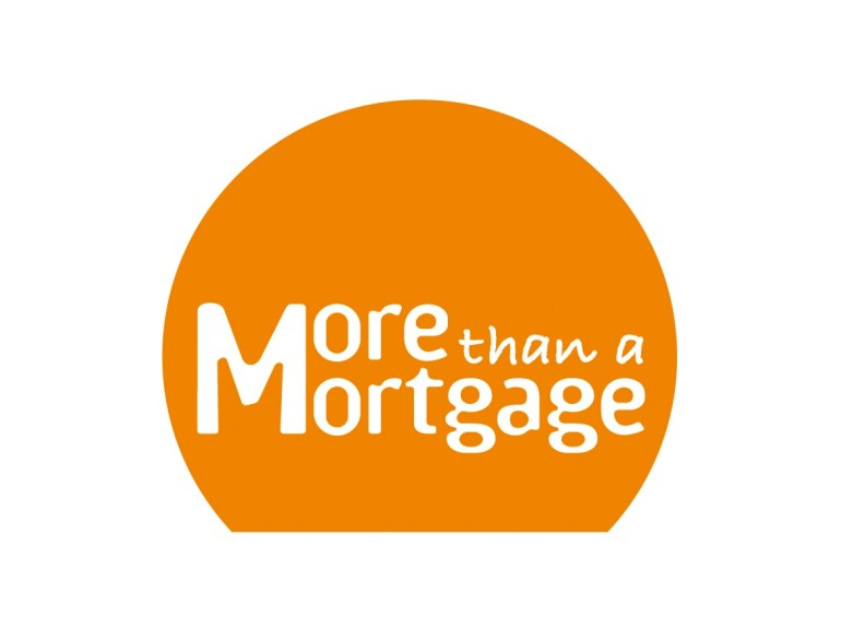 More Than A Mortgage Logo Design
