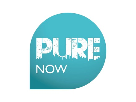 Pure Now Logo Design