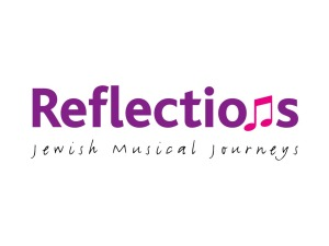 Reflections Jewish Musical Journeys Logo Design