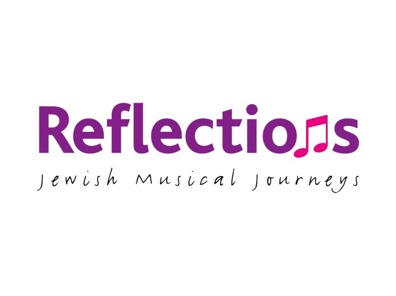 Reflections Jewish Musical Journeys Logo Design