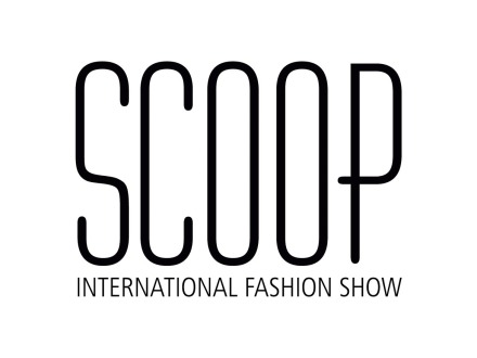 Scoop International Fashion Show Logo Design