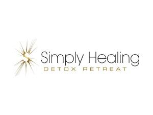 Simply Healing Detox Retreat Logo Design