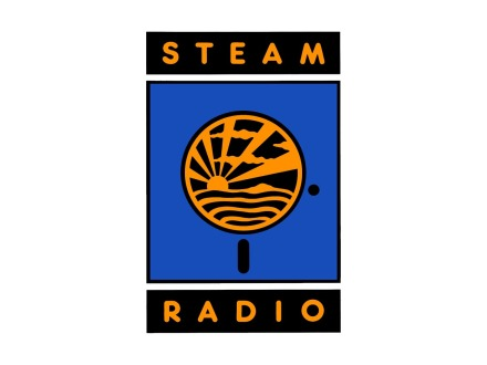 Steam Radio Logo Design