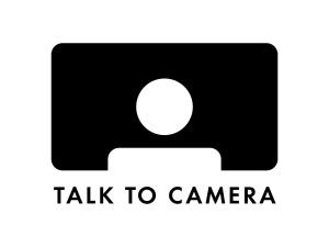 Talk To Camera Logo Design