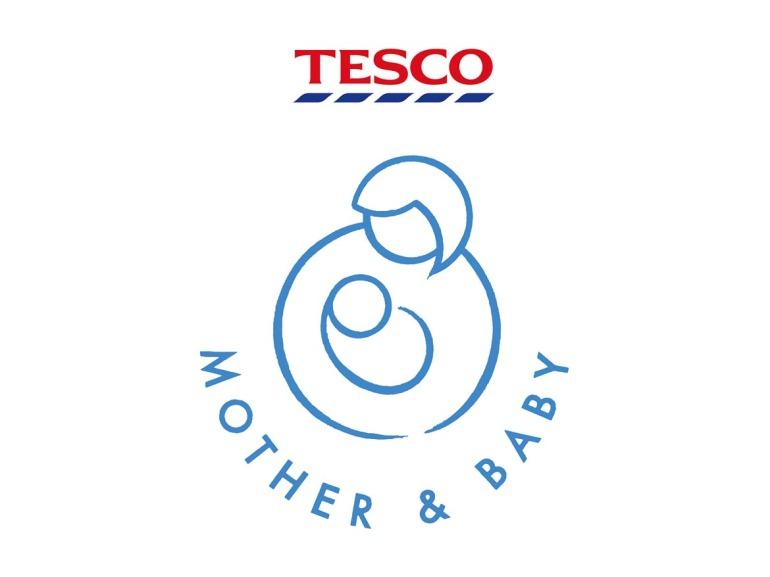 Tesco Mother and Baby Logo Design
