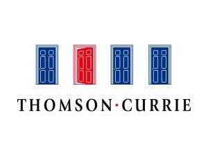 Thomson Currie Estate Agents Logo Design