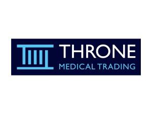 Throne Medical Trading Logo Design