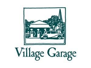 Village Garage Logo Design