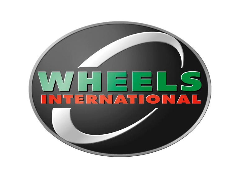 Wheels International Logo Design