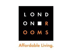 London Rooms Logo Design