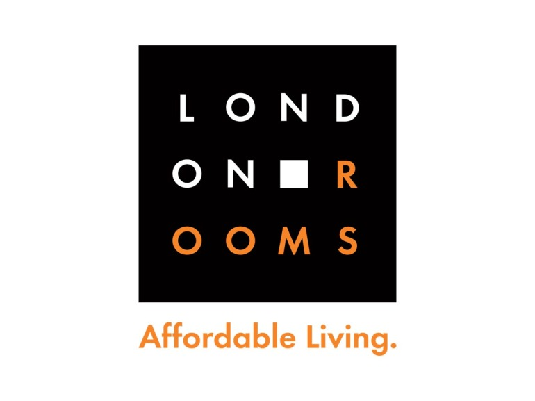 London Rooms Logo Design