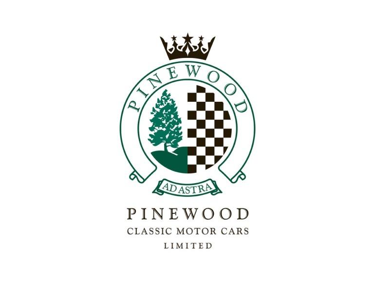 Pinewood Classic Motor Cars Logo Design