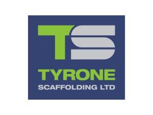 tyrone scaffolding logo design
