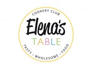 Elenas Table Cookery Club Logo Design