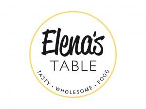 Elenas Table Logo Design