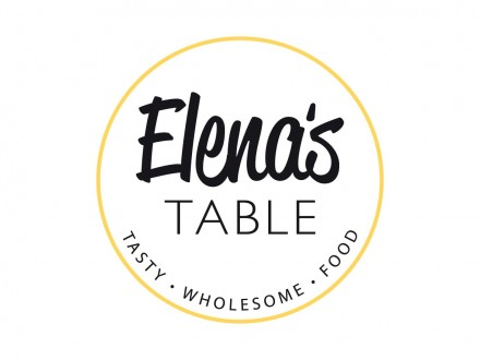 Elenas Table Logo Design