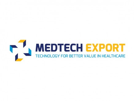 MedTech Export Logo Design